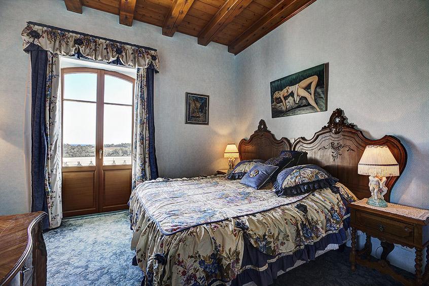 Chambre magnolias bleuet